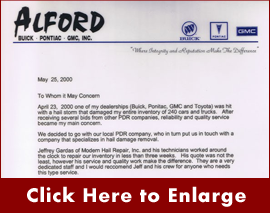 Letter from the Spencer D. Alford